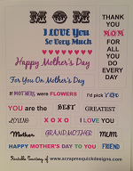 Mothers Day Word Printable