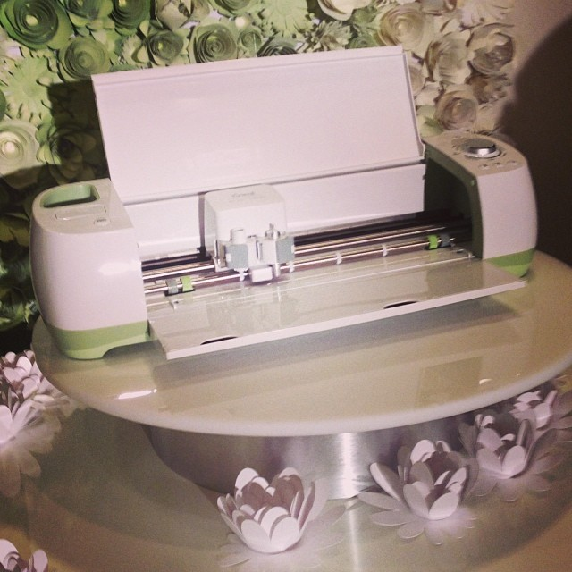 close up photo of Cricut Explore