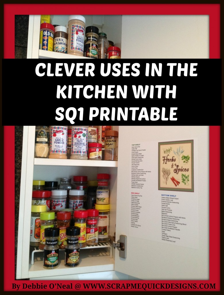 Clever Uses in Kitchen Graphic