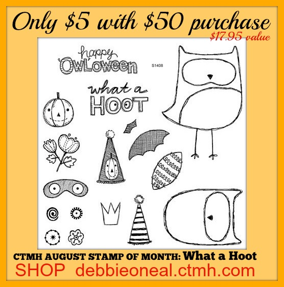 August Stamp of Month