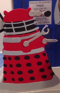 Dalek Close UP