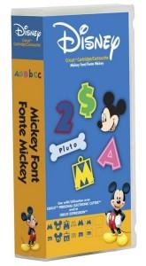Disney Mickey Font Cartridge