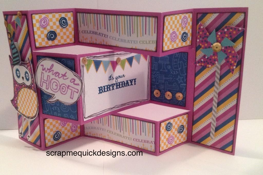 Tri Fold Inside Card