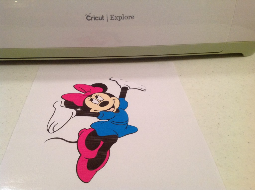 Minnie Cut Out
