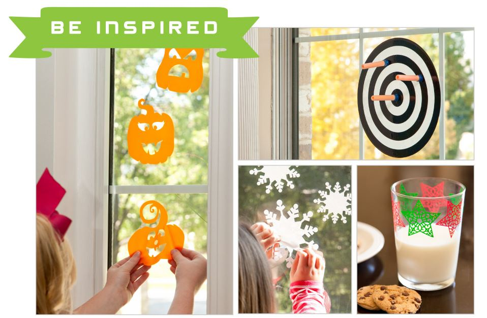 New Cricut Window Cling