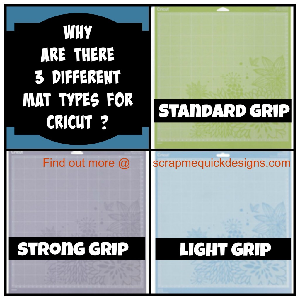 Why Are There 3 Different Mat Types For Cricut