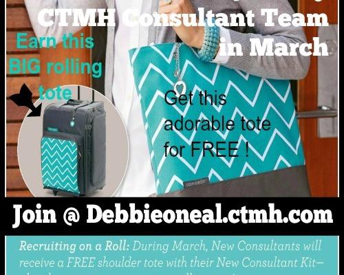 CTMH March Promo
