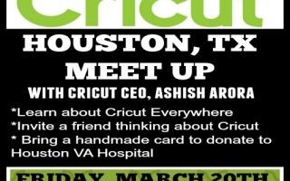 Cricut Houston Meet Up