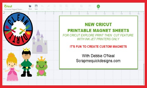 It is an image of Wild Cricut Printable Magnet Sheets