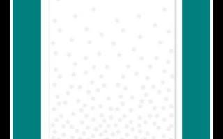 Confetti Stars Embossing Folder