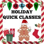 Jolly Holidays Quick Classes Graphic2
