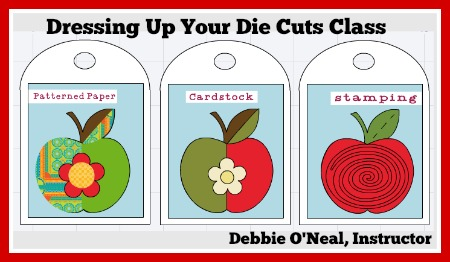 Dressing Up Your Die Cut Class
