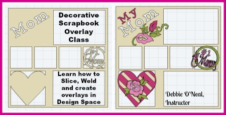 Decorative Scrapbook Overlay