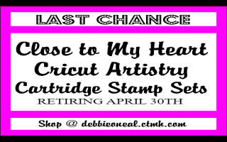 Last Chance CTMH CRICUT ARTISTRY Stamps