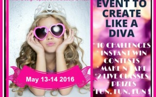 May 2016 Diva Days Online Crop Registration OPEN