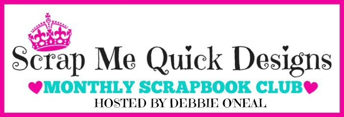 New Monthly Scrapbook Club Announcement