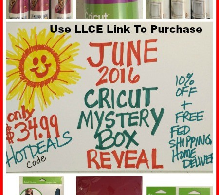June 2016 Cricut Mystery Box Is Here !