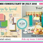 JOIN CTMH IN JULY FOR EXTRA BONUS !