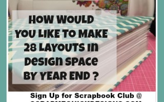 SMQD 4th Qtr Scrapbook Club Announcement