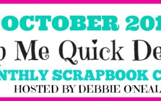 Join the SMQD Scrapbook Club Today !