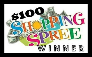 Shopping Spree Winner Announcement