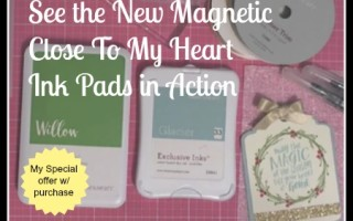 See NEW CTMH Magnetic Closure Ink Pads In Action