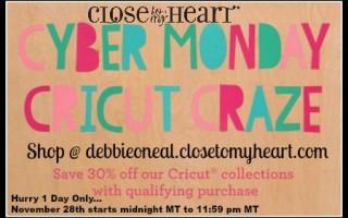 CTMH Cyber Monday Cricut Discount