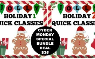 CYBER MONDAY JOLLY HOLIDAY BUNDLE DEAL