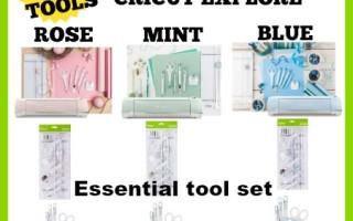 NEW Matching Cricut Explore Tool Sets