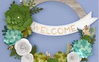 January Wreath Kit Class Announcement