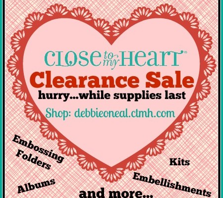CTMH CLEARANCE SALE…YES !!