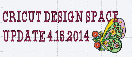 Cricut Design Space Updates