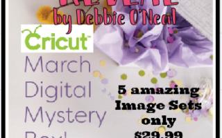 Cricut March Digital Mystery Box