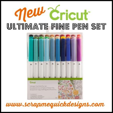 New Cricut Ultimate Fine Pen Set