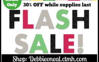 24 Hour CTMH Flash Sale Starts NOW