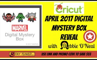 Cricut MARVEL Digital Mystery Box Reveal
