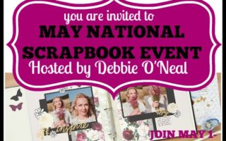 May National Scrapbook Month Event Announcement