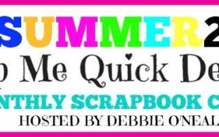 Summer 2017 Scrapbook Club Announcement
