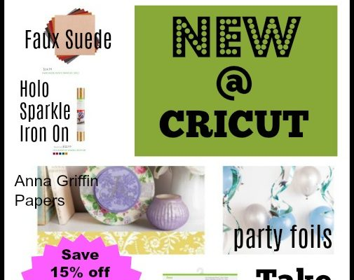 Exciting New Cricut Materials Released
