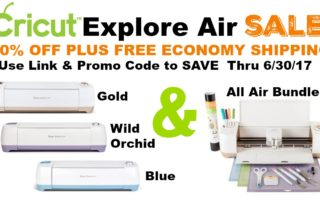 [Video]Cricut Explore Air Sale