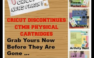 [Video] Cricut CTMH Cartridges Newsflash