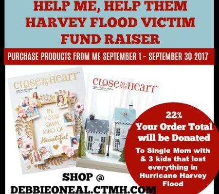 Harvey Flood Victim Fund Raiser
