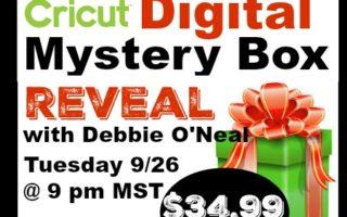 Sept Cricut Digital Mystery Box is HERE !