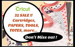 [video]Amazing 31 Cricut Sale