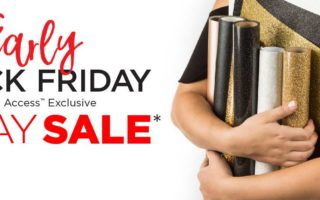 Cricut Pre-Black Friday Sale !