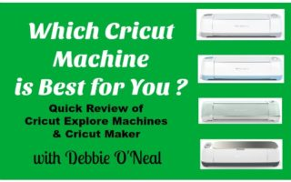 Which Cricut Machine is Best For You ?