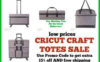 [Video]Cricut Totes On Sale