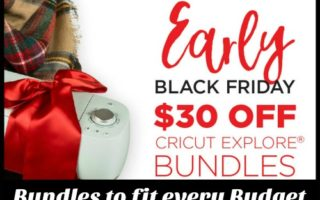 Amazing BF Deals on Cricut Machines and Tips to Choose