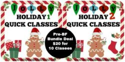PRE-BLACK FRIDAY JOLLY HOLIDAY BUNDLE DEAL